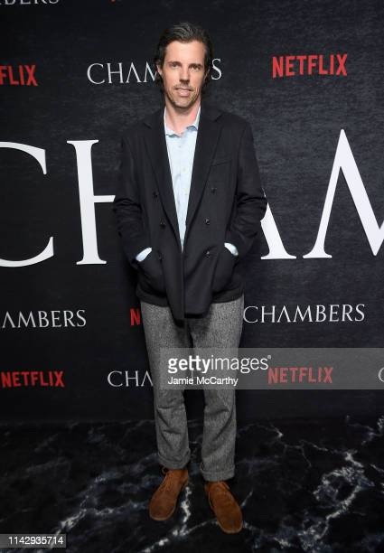 Executive producer Stephen Gaghan attends Netflix's Chambers Season 1 New York Premiere at Metrograph on April 15 2019 in New York City