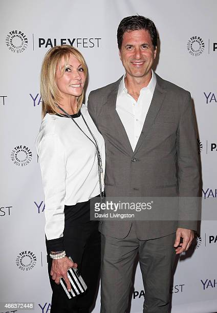 Executive producer Steven Levitan and wife Krista Levitan attend the Modern Family event at The Paley Center For Media's 32nd Annual PALEYFEST LA at...