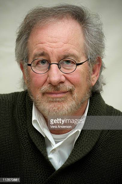 """Executive Producer Steven Spielberg attends """"The Pacific"""" press conference at the Four Seasons Hotel on February 24, 2010 in Beverly Hills,..."""