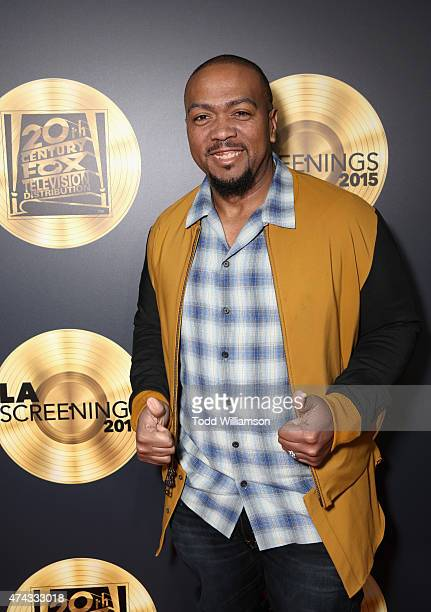 Executive producer Timbaland attends the FOX Los Angeles Screenings Party 2015 on the Fox Studio Lot on May 21 2015 in Los Angeles California