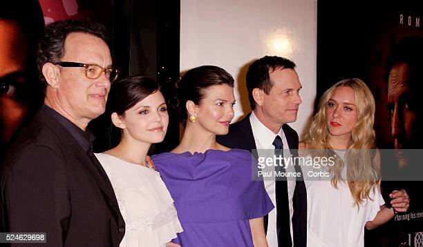 Executive producer Tom Hanks and cast members Ginnifer Goodwin Jeanne Tripplehorn Bill Paxton and Chloe Sevigny arrive at the Hollywood Premiere for...