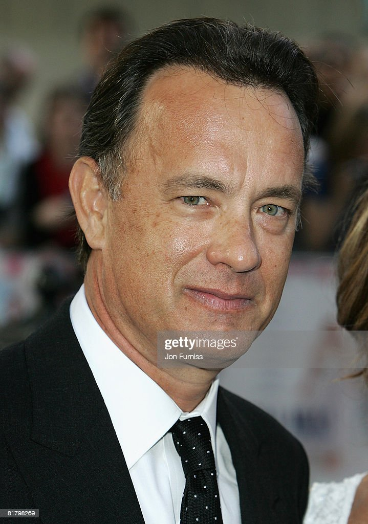 Executive Producer Tom Hanks attends the Mamma Mia! The Movie world premiere held at the Odeon Leicester Square on June 30, 2008 in London, England.