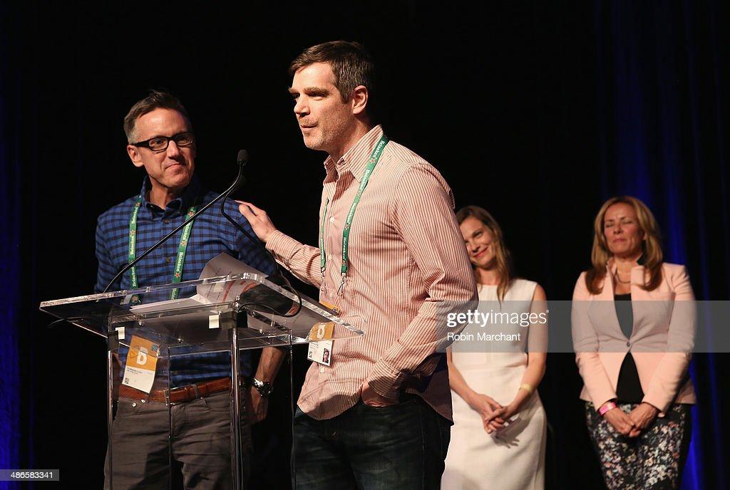 TFF Awards Night - 2014 Tribeca Film Festival : News Photo