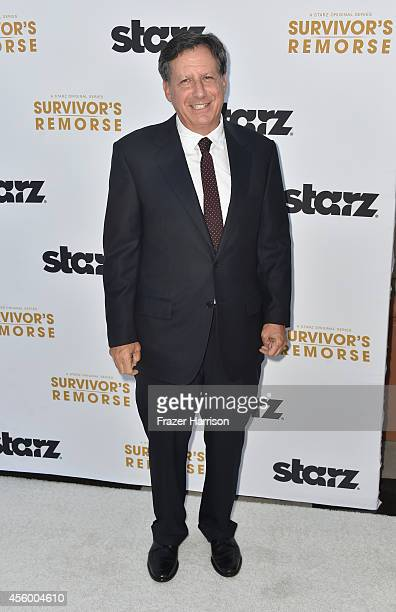 Executive producer Tom Werner arrives at the Premiere Of Starz 'Survivor's Remorse' at Wallis Annenberg Center for the Performing Arts on September...