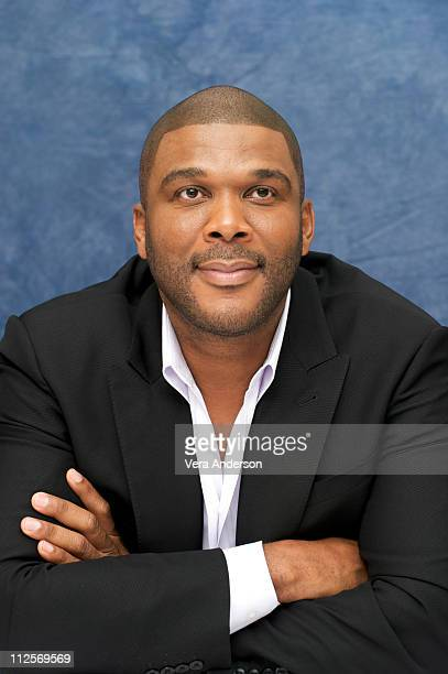 Executive Producer Tyler Perry at the Precious press conference at the Four Seasons Hotel on September 13 2009 in Toronto Canada