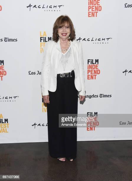 Executive producer Vania Jimenez attends the 2017 Los Angeles Film Festival 'Abu' premiere at the ArcLight Santa Monica on June 18 2017 in Santa...