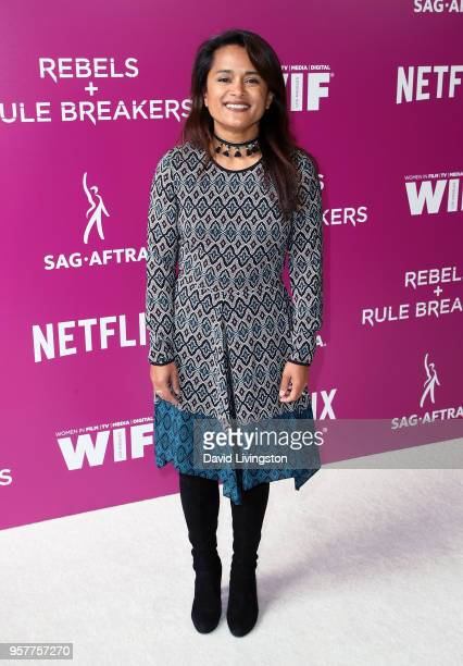 Executive producer Veena Sud attends Netflix Rebels and Rules Breakers For Your Consideration event at Netflix FYSee Space on May 12 2018 in Los...