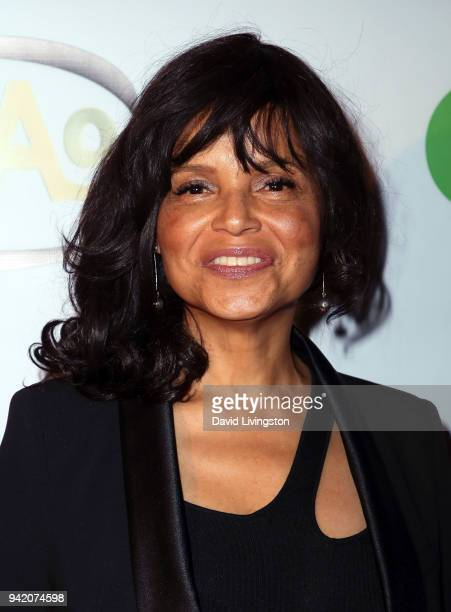 Executive producer Victoria Rowell attends the 9th Annual Indie Series Awards at The Colony Theatre on April 4 2018 in Burbank California