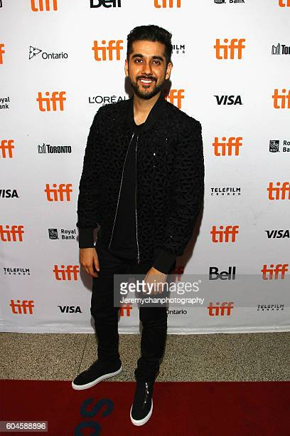 Executive Producer Vinay Virmani attends the 'Two Lovers And A Bear' Premiere held at The Elgin Theatre during the Toronto International Film...