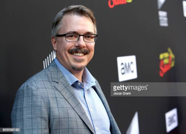 Executive Producer Vince Gilligan attends AMC's Better Call Saul season 3 premiere at ArcLight Cinemas on March 28 2017 in Culver City California