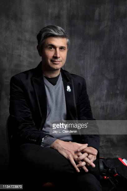 Executive producer Win Rosenfeld from 'The Twilight Zone' is photographed for Los Angeles Times on March 24 2019 during PaleyFest at the Dolby...