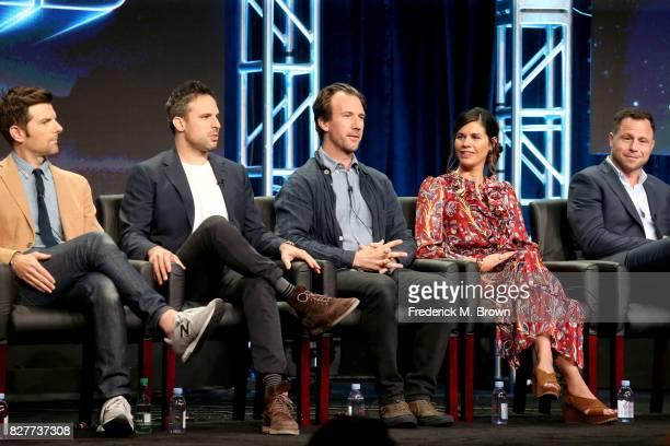 Executive producer/actor Adam Scott Creator/Writer/Executive Producer Tom Gormican Writer/Executive Producer Kevin Etten and Executive Producers...