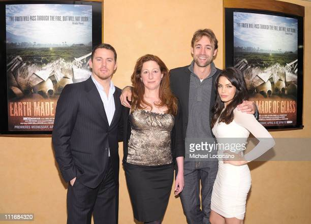 Executive producer/actor Channing Tatum director Deborah Scranton executive producer/actress Jenna Dewan Tatum and producer Reid Carolin attend the...