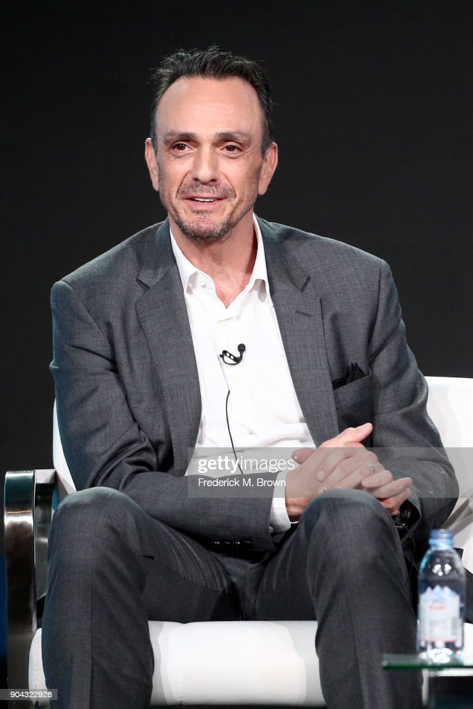 Executive producer/actor Hank Azaria of 'Brockmire ' speaks onstage during the IFC portion of the 2018 Winter Television Critics Association Press Tour at The Langham Huntington, Pasadena on January 12, 2018 in Pasadena, California.
