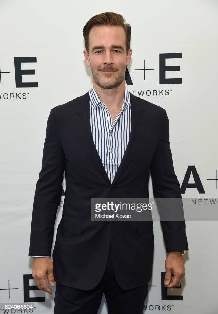 Executive producer/actor James Van Der Beek of 'What Would Diplo Do' at the Viceland and AE Networks portion of the 2017 Summer Television Critics...
