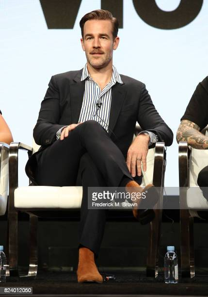 Executive producer/actor James Van Der Beek of 'What Would Diplo Do' speaks onstage during the Viceland portion of the 2017 Summer Television Critics...