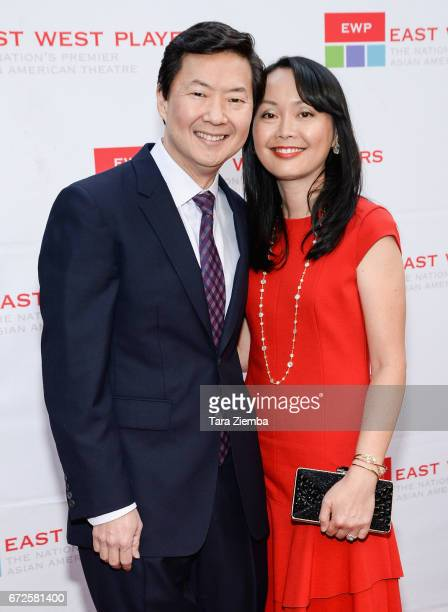 Executive producer/actor Ken Jeong and his wife Tran Ho attend the East West Players 'Radiant' 51st Anniversary Visionary Awards and silent auction...