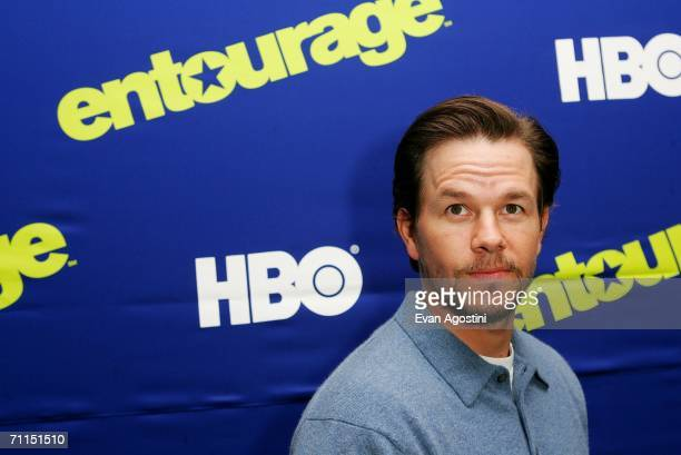 Executive producer/actor Mark Wahlberg attends the New York Premiere of the 3rd Season of HBO's 'Entourage' at the Skirball Center for the Performing...