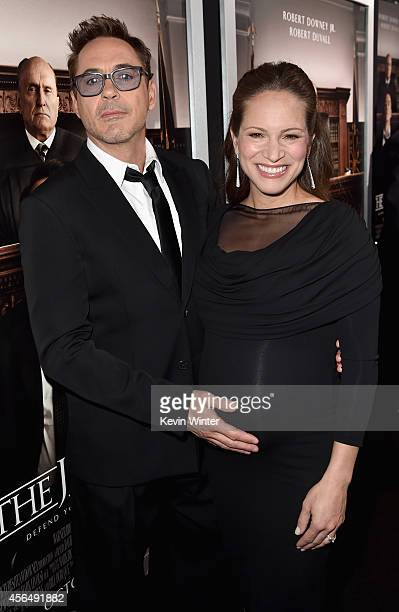 """Executive producer/actor Robert Downey Jr. And producer Susan Downey attend the Premiere of Warner Bros. Pictures and Village Roadshow Pictures' """"The..."""