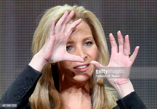 Executive Producer/Actress Lisa Kudrow speaks onstage at the The Comeback panel during the HBO portion of the 2014 Summer Television Critics...