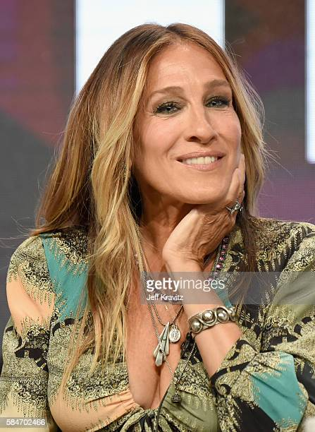 Executive producer/actress Sarah Jessica Parker speaks onstage during the 'Divorce' panel discussion at the HBO portion of the 2016 Television...