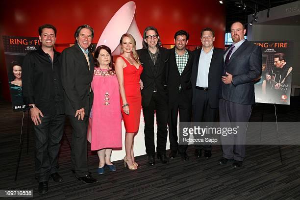 Executive producer/CEO Asylum Steve Michaels, actor John Doe, director Allison Anders, singer Jewel, Vice President of the GRAMMY Foundation Scott...