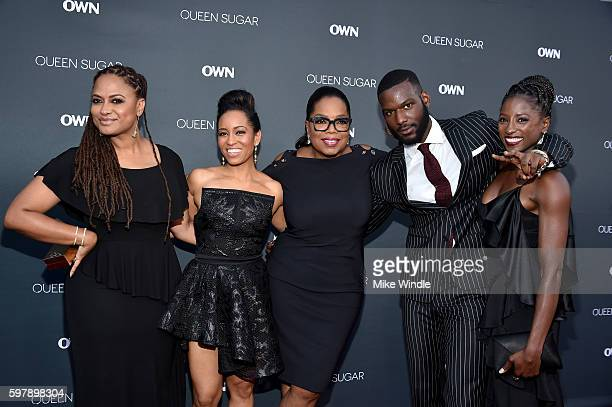 Executive producer/creator Ava DuVernay actress DawnLyen Gardner executive producer Oprah Winfrey and actors Kofi Siriboe and Rutina Wesley attend...