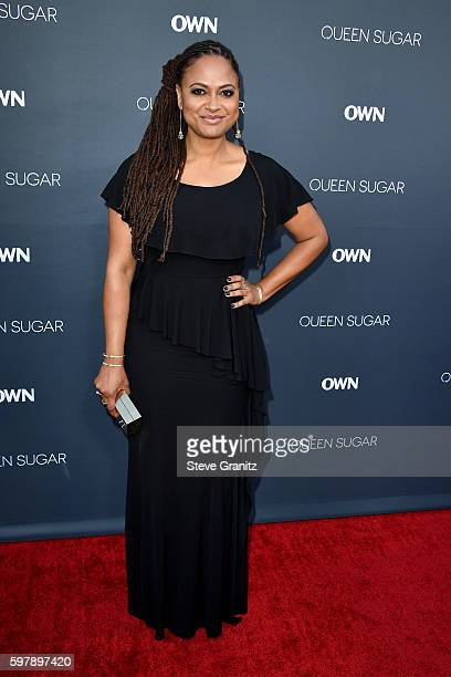 "Executive producer/creator Ava DuVernay attends OWN Oprah Winfrey Network's ""Queen Sugar"" premiere at the Warner Bros Studio Lot Steven J Ross..."