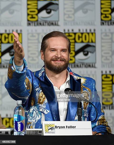 Executive producer/creator Bryan Fuller attends the 'Hannibal' Savor the Hunt panel during ComicCon International 2015 at the San Diego Convention...