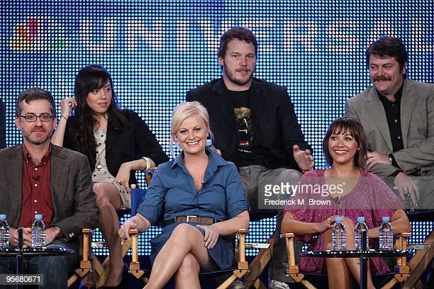 Executive Producer/Creator Greg Daniels actress Aubrey Plaza actress Amy Poehler actor Chris Pratt actress Rashida Jones and actor Nick Offerman...
