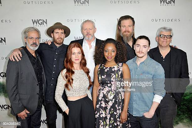 Executive producer/creator Peter Mattei actors Thomas Wright David Morse Ryan Hurst and executive producer Peter Tolan Actors Gillian Alexy Christina...