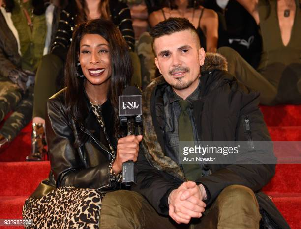 Executive producer/designer Erik Rosete attends Los Angeles Fashion Week Powered by Art Hearts Fashion LAFW FW/18 10th Season Anniversary Backstage...
