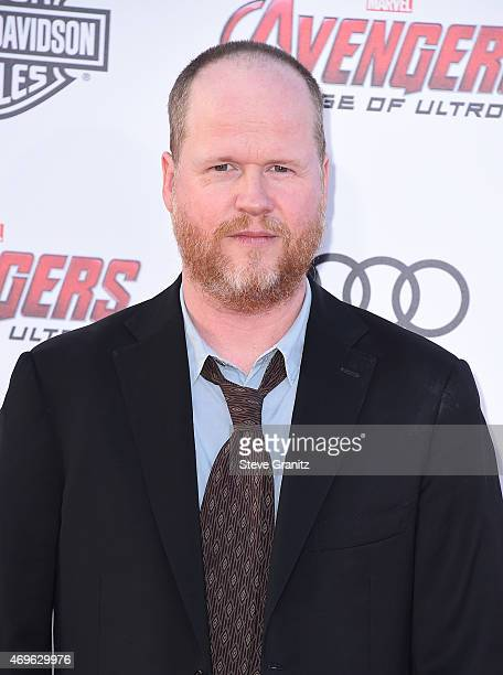 Executive producer/director Joss Whedon attends the premiere of Marvel's 'Avengers Age Of Ultron' at Dolby Theatre on April 13 2015 in Hollywood...