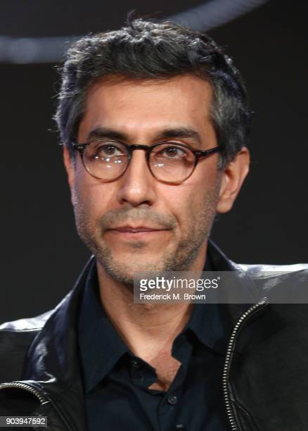 Executive producer/director/cowriter Ramin Bahrani of the television show Fahrenheit 451 speaks onstage during the HBO portion of the 2018 Winter...