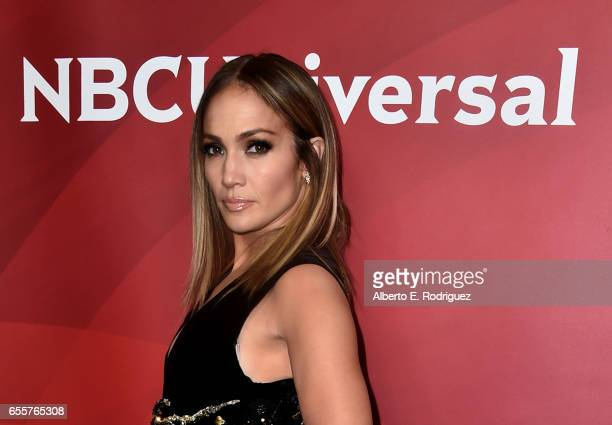 Executive producer/judge Jennifer Lopez of 'World Of Dance' attends the 2017 NBCUniversal Summer Press Day at The Beverly Hilton Hotel on March 20...