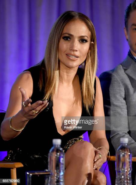 Executive producer/judge Jennifer Lopez of 'World Of Dance' speaks onstage during the 2017 NBCUniversal Summer Press Day at The Beverly Hilton Hotel...