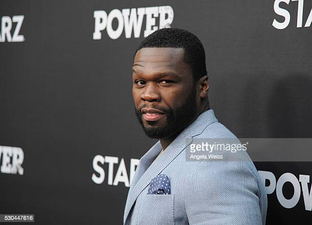 Executive producer/Rapper Curtis '50 Cent' Jackson attends the For Your Consideration Event for STARZs' Power at ArcLight Hollywood on May 10 2016 in...