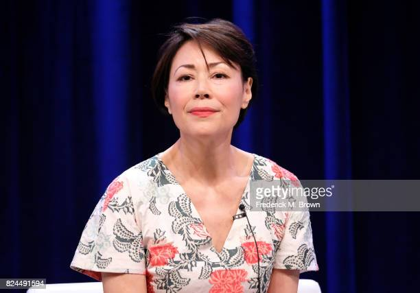 Executive producer/reporter Ann Curry of 'We'll Meet Again' speaks onstage during the PBS portion of the 2017 Summer Television Critics Association...