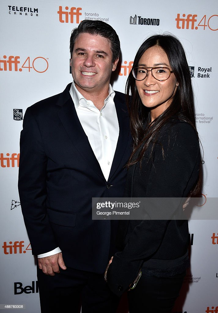 Executive Producers Adam Del Deo (L) and Lisa Nishimura attend the 'Keith Richards: Under The Influence' premiere during the 2015 Toronto International Film Festival at Princess of Wales Theatre on September 17, 2015 in Toronto, Canada.