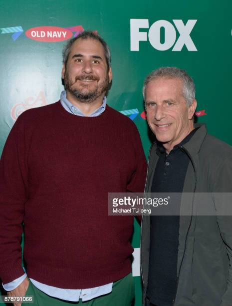 Executive Producers Adam Siegel and Marc Platt attend FOX's 'A Christmas Story Live' Lighting Event featuring the leg lamp at The Grove on November...