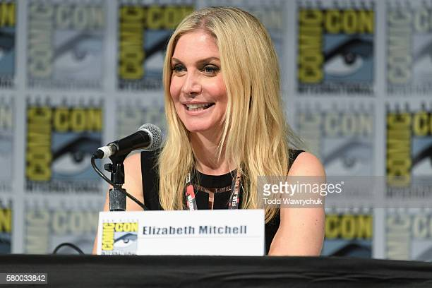 SUMMER Executive producers and cast of Dead of Summer were featured at the ComicCon Convention in San Diego California on July 22 2016 ELIZABETH