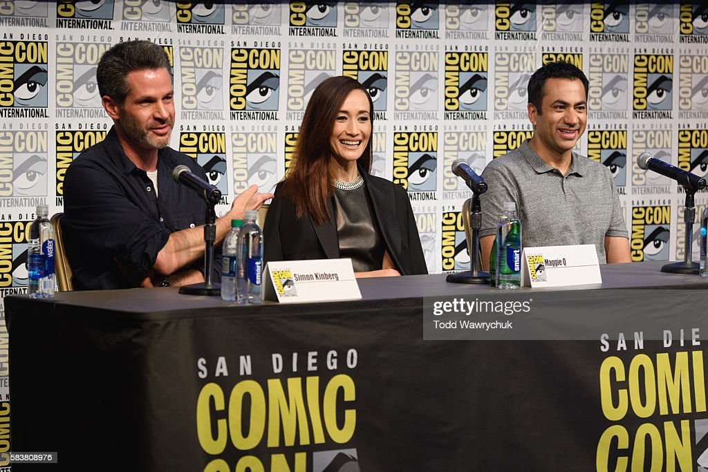 SURVIVOR - Executive producers and cast of Designated Survivor' were featured at the Comic-Con Convention in San Diego, California, on July 23, 2016. SIMON KINBERG (EXECUTIVE PRODUCER), MAGGIE