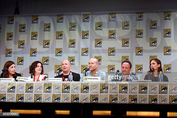 S AGENT CARTER Executive producers and Hayley Atwell were featured at the ComicCon Convention in San Diego California on July 25 2014