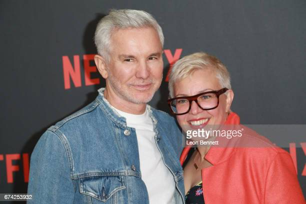 Executive producers Baz Luhrmann and Catherine Martin attends For Your Consideration Event For Netflix's 'The Get Down' at Saban Media Center on...