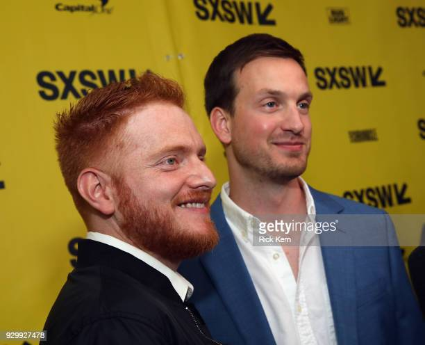 Executive Producers Bryan Woods and Scott Beck attend the Opening Night Screening and World Premiere of 'A Quiet Place' during the 2018 SXSW Film...