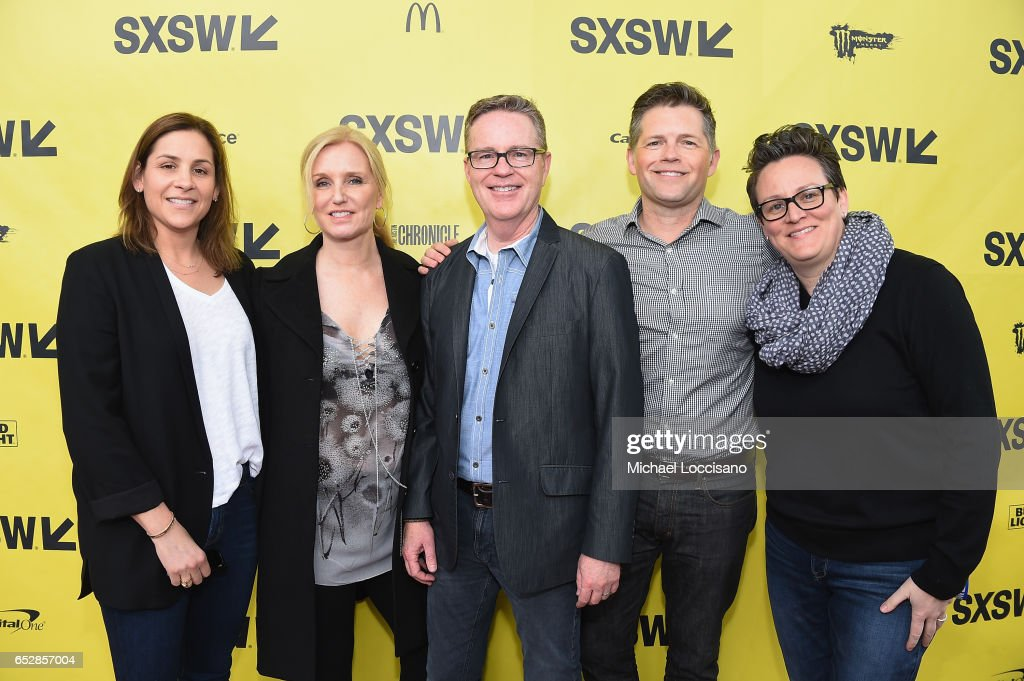 Executive Producers Carol Meiselmen, Katherine Ann McGregor and Bob Hayes, and Producers Brunson Green and Laura Ivey attend the 'Walking Out' premiere during 2017 SXSW Conference and Festivals at the ZACH Theatre on March 12, 2017 in Austin, Texas.