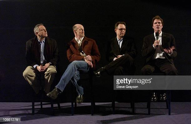 Executive producers Craig Zadan and Neil Meron screenwriter Bill Condon and director / choreographer Rob Marshall