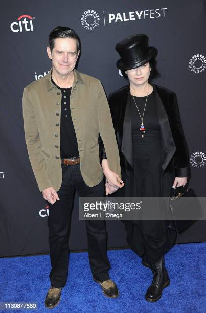 Executive Producers Daniel Palladino and Maureen J Reidy attend The Paley Center For Media's 2019 PaleyFest LA Opening Night Presentation Amazon...