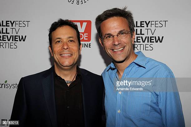 Executive Producers Darren Swimmer and Todd Slavkin attend the PaleyFest TV Guide Magazine's The CW Fall TV Preview Party at the Paley Center for...