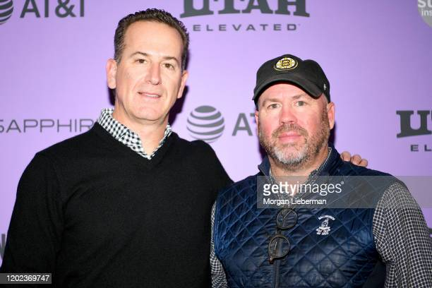 Executive Producers Darryl Frank and Justin Falvey attends the 2020 Sundance Film Festival Natalie Wood What Remains Behind Premiere at The Marc...